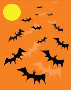 Free Bat Background Stock Image - 16050761