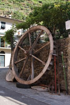 Free Water Wheel Royalty Free Stock Image - 16051766