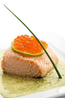Free Salmon Fillet Stock Photos - 16051853