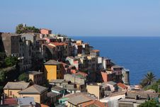 Free Italian Ocean Village Royalty Free Stock Photos - 16051858