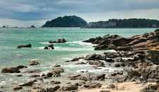 Free Coastal Walk At Manganui, Bay Of Plenty, New Zeala Royalty Free Stock Photography - 16053267