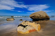 Free Beach In Maketu, Bay Of Plenty Stock Photos - 16053413