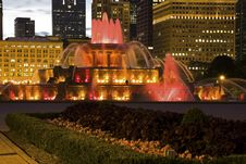 Buckingham Fountain Stock Image