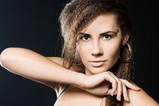 Free Elegant Fashionable Woman Stock Images - 16054234