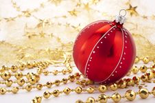 Free Christmas Decoration Royalty Free Stock Photos - 16054248