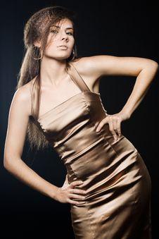 Free Elegant Fashionable Woman Stock Image - 16054301