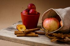 Free Apples And Plums Stock Photography - 16054372