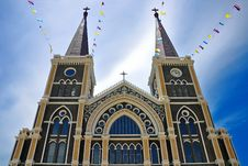 Free Church In Thailand Royalty Free Stock Photo - 16054485