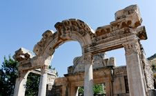 Free Antique Ruins In Ephesus Royalty Free Stock Image - 16055596