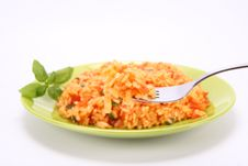 Risotto With Tomatoes Stock Images