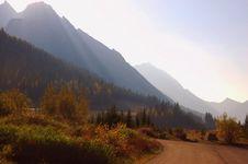 Free Smokie Mountain Morning Royalty Free Stock Image - 16057076
