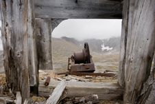 Free Abandoned Mining Relic Royalty Free Stock Images - 16057149