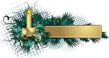 Free Christmas Banner Royalty Free Stock Image - 16057286