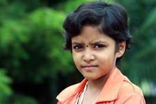 Indian Teenage Girl Royalty Free Stock Photo