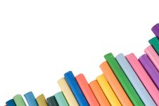 Free Multi Color Pencil. On White Stock Photos - 16059173