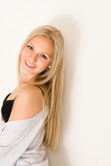 Beautiful Young Pretty Woman Stock Photos