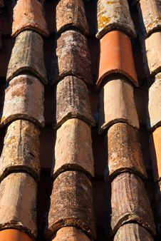 Free Red Tile Roof Stock Images - 16059764