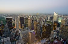 Free Skyline New York City En Central Park Royalty Free Stock Photography - 16059807