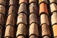 Free Red Tiled Roof Royalty Free Stock Images - 16059809