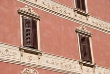 Free Pink Building Details Royalty Free Stock Image - 16059846