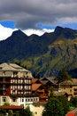 Free Village Leading To Jungfrau Stock Photos - 16064093