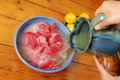 Free Cooking Tuna Fish Royalty Free Stock Photos - 16065608