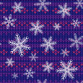 Free Seamless Knitted Background Royalty Free Stock Photography - 16065647