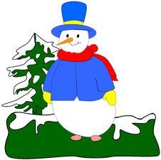 Free Snowman Stock Image - 16060101