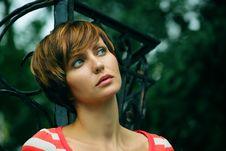 Free Face Of A Young Girl Stock Photos - 16060613