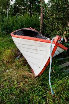Free Old Boat Royalty Free Stock Image - 16061656