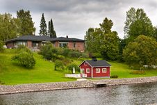 Free Luxury House In Finland Royalty Free Stock Photos - 16061758
