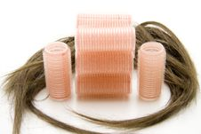 Free Plastic Roller With Hairs Stock Photos - 16061953