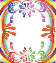 Multi-colored Rainbow Royalty Free Stock Image