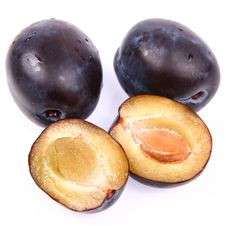 Free Plums Royalty Free Stock Image - 16063026