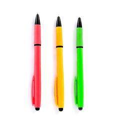 Free Colored Pens Stock Images - 16063264
