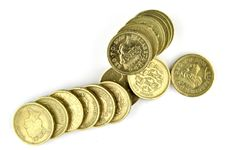 Free Stack Of Coins Royalty Free Stock Images - 16064609