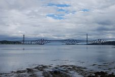 Free Bridges In Forth Royalty Free Stock Photography - 16065277