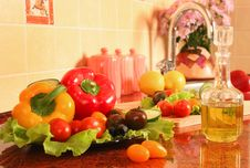 Free On A Kitchen Royalty Free Stock Image - 16067786