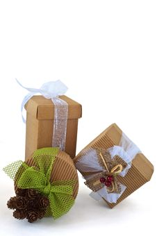 Free Christmas Gift Boxes 9 Stock Images - 16068044