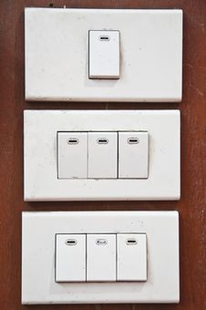 Free Light Switch Royalty Free Stock Image - 16068446