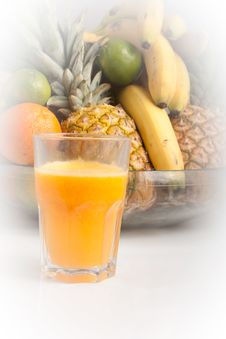 Free Orange Natural Fresh Squeezed Juice Stock Photos - 16069423