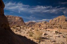 Free Wadi Rum Desert Royalty Free Stock Image - 16069586