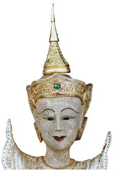 Free Statue In A Buddhist Style Royalty Free Stock Photo - 16069695
