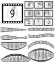 Free Film Countdown Illustration Royalty Free Stock Photos - 16070868
