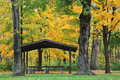 Free Picnic Grotto In Autumn Royalty Free Stock Photography - 16071307
