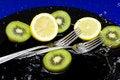 Free Orange With Kiwi Royalty Free Stock Images - 16072379