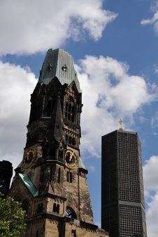 Free Kaiser Wilhelm, Ged�chtnis Kirche Stock Photos - 16070013