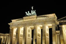 Free Brandenburger Tor Royalty Free Stock Photography - 16070047
