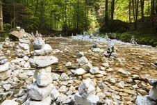 Free River Stream With Rocks Royalty Free Stock Photo - 16070585
