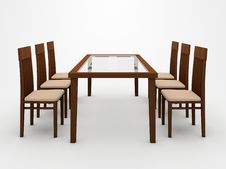 Free Table And Chairs Stock Photos - 16070813